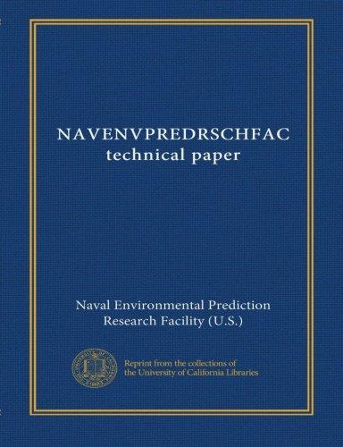 NAVENVPREDRSCHFAC technical paper (v.76 no.8) ebook