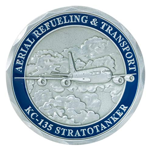 United States Air Force KC-135 Stratotanker Aerial Refueling Aircraft Challenge Coin Air Force Kc 135