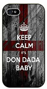 """iPhone 6 (4.7"""") Keep calm and it's Don Dada Baby - black plastic case / Keep calm By SHURELOCK TM"""