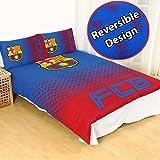 FC Barcelona Fade Double/US Full Duvet Cover and Pillowcase Set
