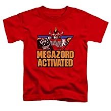 Mighty Morphin Power Rangers Megazord Activated Little Boys Shirt