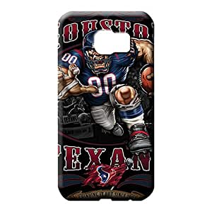 samsung galaxy s6 edge cover Protective High Quality mobile phone carrying shells houston texans nfl football