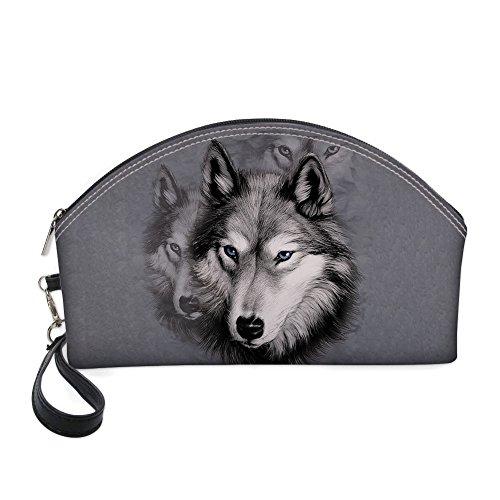 z2407z9 Z Única Pug Hombro Bolso Para Showudesigns Al Dog Mujer 2 Talla Wolf C4fTq5w