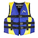 Airhead Closed Sided Youth Nylon Life Vest Blue/Yellow