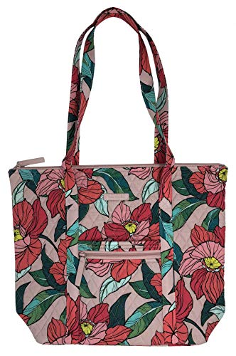 Vera Bradley Villager with Solid Interiors (Vintage Floral)