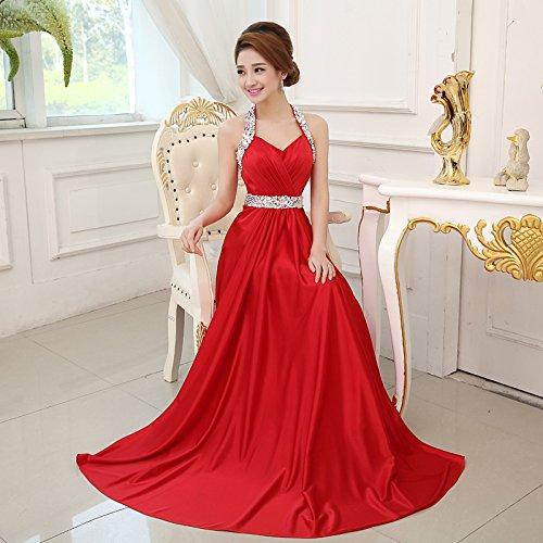grand rouge XL JKJHAH Robes De Soirée Robes De Soirée Robes De Soirée Rouge Nuptiale