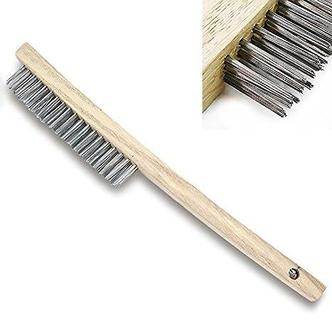 Amazon.com: Cepillo de alambre de soldadura de acero ...