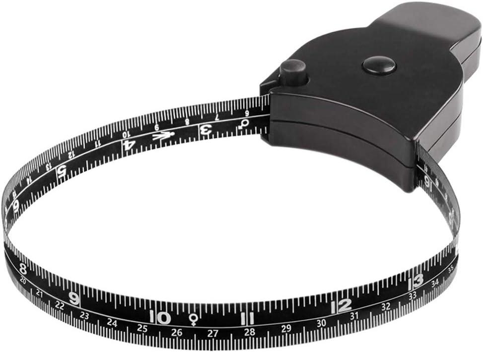 Gogdog Body Measuring Tape Lock Pin and Push Button Retract Waist Measurement Tape