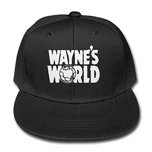 29b7481925acd Sanbeis Wayne s World Kid Leisure Hats Black