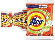 Ace Detergente En Polvo Floral 6 Unidades de 750g, Total 4.5Kg