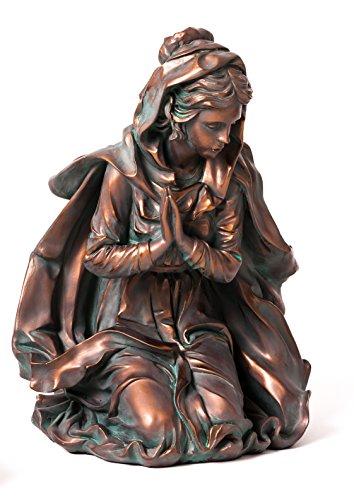 Evergreen 3-Piece Bronze Finish Mary, Joseph and Baby Jesus Outdoor Safe Garden Nativity Set by Evergreen Flag & Garden (Image #2)