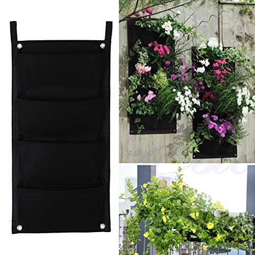 Wall Planters Ueb 4 Pocket Hanging Vertical Garden