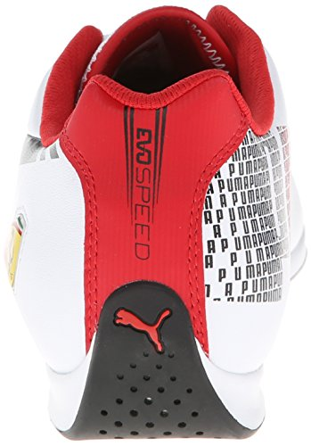 Ferrari Puma 3 bianco 5 rosso Corsa 11 Lo Mens Us rosso White Evospeed Shoe 1 M Corsa q0rtx4nXwr