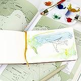 Travelogue Drawing Book, Pocket Portrait 5-1/2 x