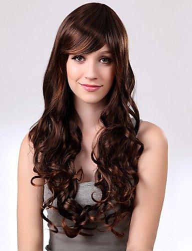 Cheveux long marron clair