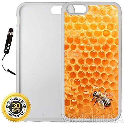 0da5add7994 Amazon.com  Custom iPhone 6 Plus 6S Plus Case (Bumble Bee Honeycomb ...