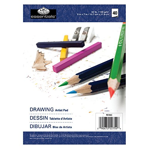 Essentials Drawing Artist Paper Pad 5