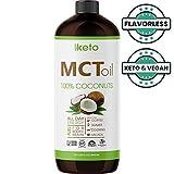 Premium MCT Oil Non GMO Coconuts Keto & Paleo Diet Friendly - Coffee Shakes & Salads. BPA Free 32oz Larger Image