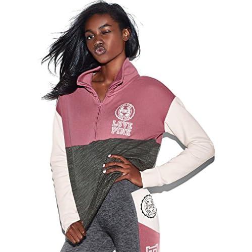 2dc154728a06d Victoria's Secret Pink High/Low Half-Zip Pullover delicate ...