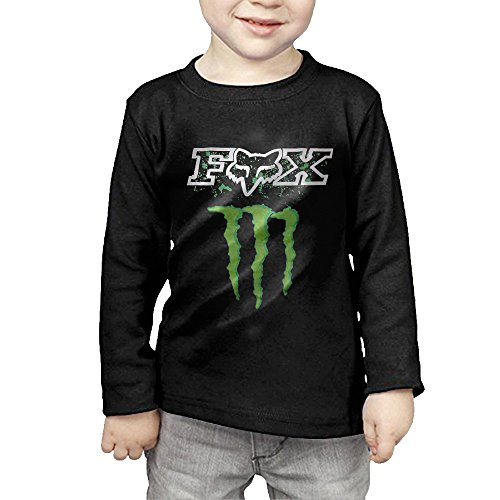 QUSI Fox Racing Logo Baby/Toddler Long Sleeve Tee