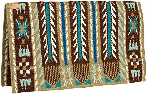 Southwestern Equine American Heritage Special Edition Good Medicine Morning Star Show Blanket (Palomino/Aquamarine)