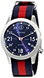 Electric Men's EW0010020008 FW01 Nato Band Analog Japanese Quartz Multi-Color Watch