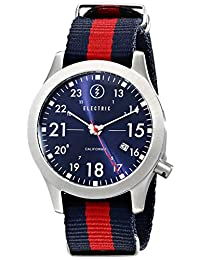 Electric Men's EW0010020008 FW01 Nato Band Analog Japanese Quartz Multi-Color Watch