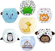 Infant Training Pants 7 Pack Max Shape Baby Potty Training Underwear for boys,Plant-based Training Underwear