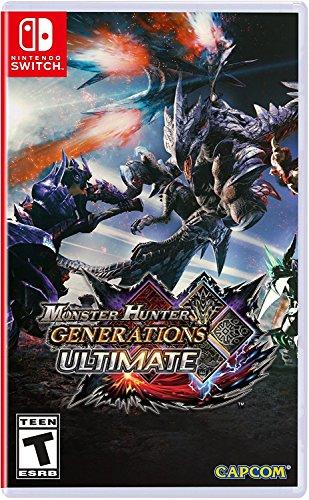 Monster Hunter Generations Ultimate - Nintendo Switch (Monster Hunter 3 Best Weapon)