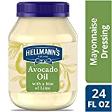 Hellmann's Mayonnaise Dressing, Avocado Oil with a hint of Lime 24 oz