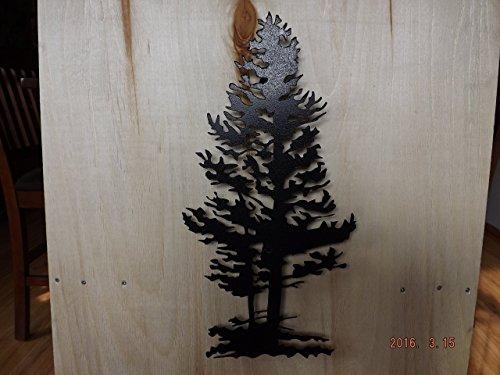 Pine Tree Metal Art - 3
