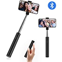 yoozon Palo Selfie, Mini Selfie Stick Giratorio para Selfies y Videos, Extensible Monopié con Control Remoto Bluetooth, Ajustable para Smartphone como iPhone, Samsung, Huawei, Xiaomi etc