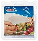 Silikomart Coverflex Reusable Silicone Food Covers, Medium/Large/X-Large, Set of 3