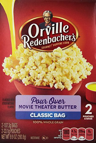 Orville Redenbacher Pour Over Movie Theater Popcorn 2ct - 6 Unit Pack (Orville Pour Over compare prices)