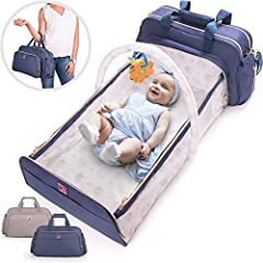 The Super-Parent Handbag That Goes Everywhere              From stylish hand tote to diaper bag to comfy bassinet and changing station, this 4-in-1 convertible diaper bag is the most functional item you'll ever own as a parent...