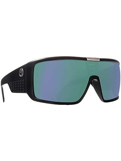 b65f3193eaf Amazon.com   Dragon Alliance Domo Matte Black Frame with Green Ion Lens  Sunglasses   Sports   Outdoors