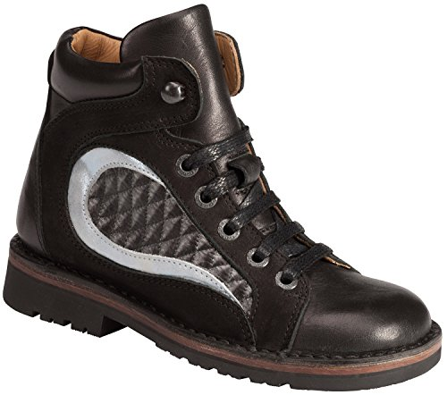 Piedro ortopédico de conceptos de los niños calzado-Modelo s250001 negro