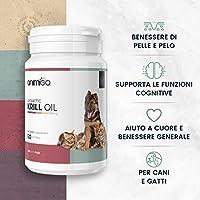 Animigo Aceite de Krill para Perros y Gatos | para Cuidado de Piel ...