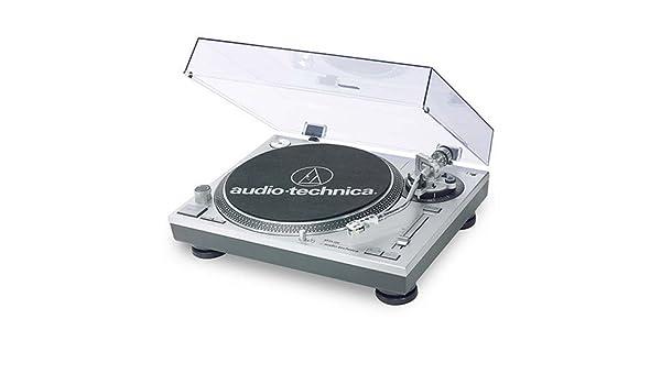 Audio-Technica AT-PL120 tocadisco - Tocadiscos: Amazon.es: Electrónica