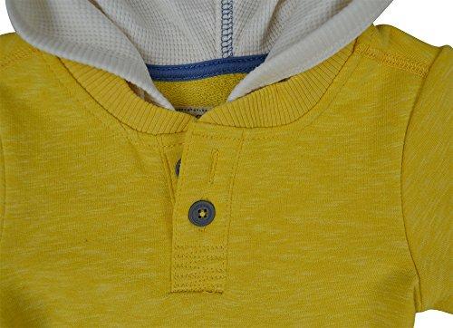 Alfa Global Boy's Genuine Osh Kosh Pull-Over Hoodie Layered Look Top 3T
