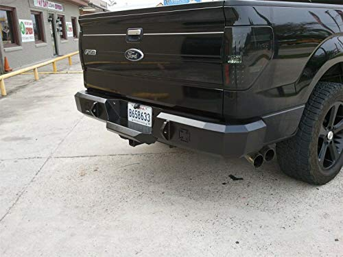 Iron Ford Cross F150 - Iron Cross Automotive 21-415-09 Heavy Duty Rear Bumper for 2009 to 2014 Ford F-150/Raptor