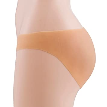 Mujer/Transexual Silicona Falso Nalga Pantalones A Tope Levantador Sin Costura Bragas Potenciador Ropa Interior
