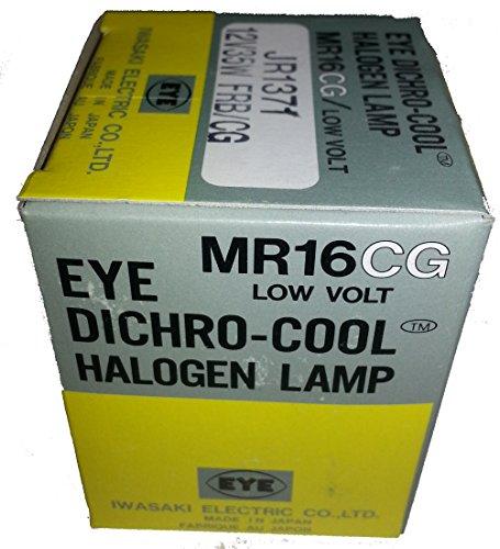 EYE Dichro-Cool Halogen Lamp MR16CG JR1371 12V 35W - 35v Bulb Halogen
