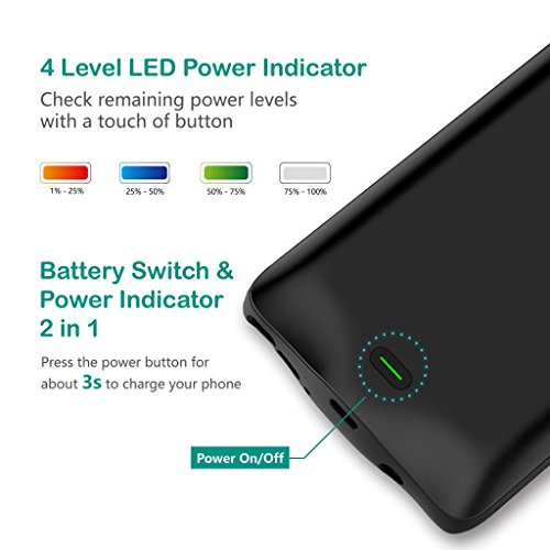 Samsung Galaxy Note 8 Battery situation Wofalodata 5500mAh Rechargeable Extended Battery Charging situation for Samsung Galaxy Note 8 External Battery Charger situation Backup electricity Bank situation Black Battery Charger Cases