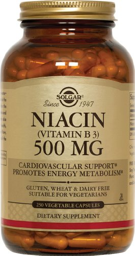 Solgar Niacin Vitamin Vegetable Capsules product image