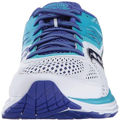 Running 10 Bianco Saucony Woman Blu Ride qgFwx0w6