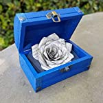 Book-Page-Paper-Rose-in-a-Wood-Chest-Choose-Your-Color