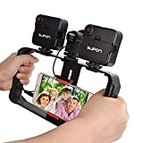 SUPON U Rig ProSmartphone Video Rig,Phone Movies Mount Handle Grip Stabilizer,Filmmaking Recording Rig Case for Video Maker Filmmaker Videographer Compatible for iPhone,Samsung,Huawei,Other Phones