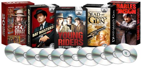 Best of the West: (Bat Masterson, Dead Mans Gun, The Young Riders, Charles Bronson, Great Westerns) Amazon Exclusive