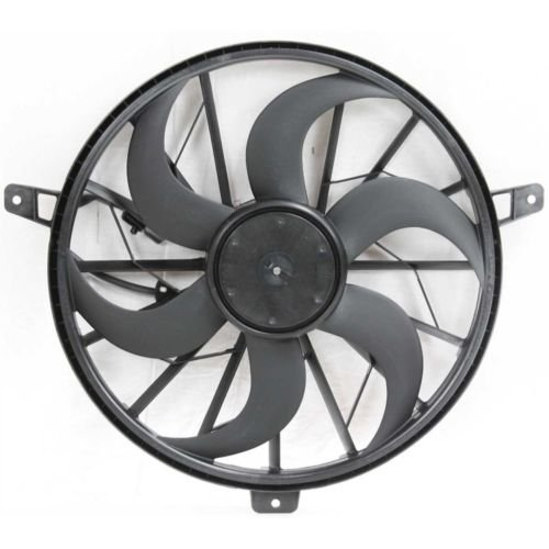 MAPM Premium GRAND CHEROKEE 99-03/LIBERTY 02-05 RADIATOR FAN and MOTOR ASSEMBLY, 6/8 Cyl, w/o Tow Pckg